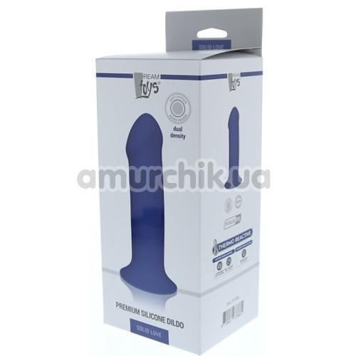 Фаллоимитатор Solid Love Premium Silicone Dildo 7, синий