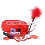 Набор The Sensual Love Kit, красный - Фото №1