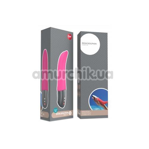 Вибратор для точки G Fun Factory Diva Dolphin, розовый