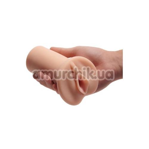 Искусственная вагина Pornhub Bump & Grind Pussy Stroker, телесная