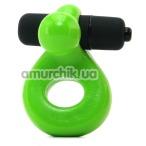 Виброкольцо Glo-Glo a Go-Go Nuclear Lime Glo Ring, зеленое - Фото №1