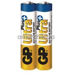 Батарейки GP Ultra Plus ААА, 2 шт - Фото №1