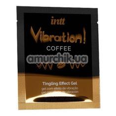 Возбуждающий гель с эффектом вибрации Intt Vibration Coffee Tingling Effect Gel - кофе, 5 мл - Фото №1