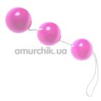 Анально-вагинальные шарики Sexual Balls, розовые - Фото №1