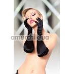 Перчатки 7702 Satin Gloves, чёрные - Фото №1