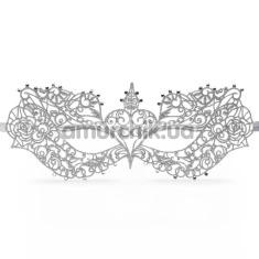 Маска Fifty Shades Darker Anastasia Masquerade Mask, серебряная