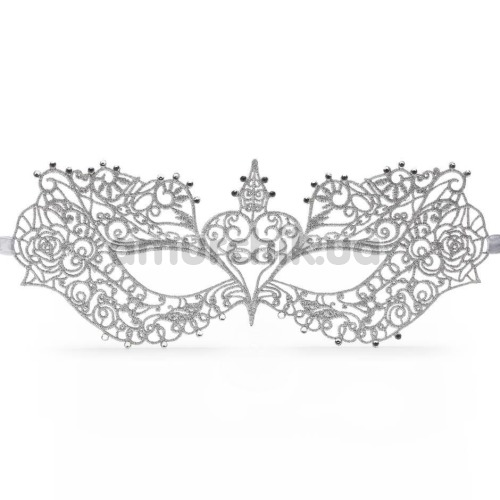 Маска Fifty Shades Darker Anastasia Masquerade Mask, серебряная - Фото №1