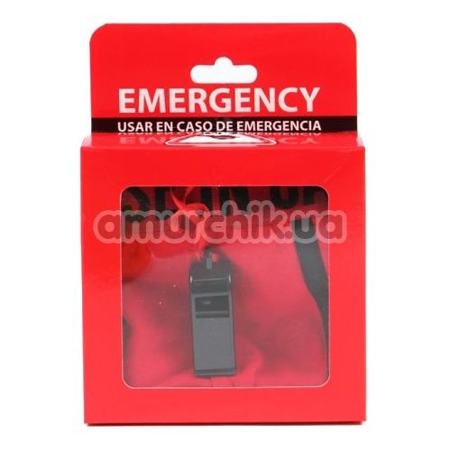 Мужские трусы Admas Emergency со свистком, красные