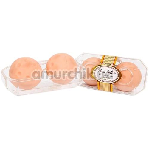 Вагинальные шарики Yam Balls, телесные
