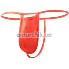 Трусы-стринги мужские с отверстием Svenjoyment Underwear, красные