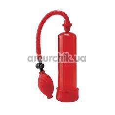 Вакуумная помпа Pump Worx Beginner's Power Pump, красная - Фото №1