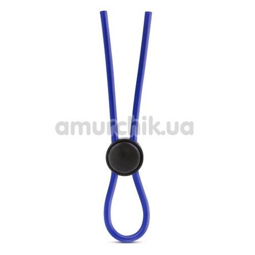 Эрекционное кольцо Stay Hard Silicone Loop Cock Ring, синее