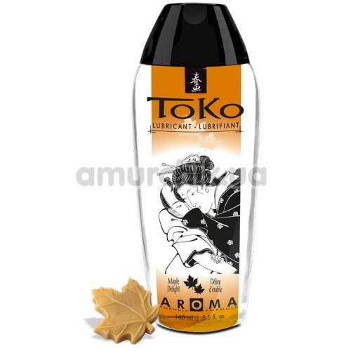 Оральный лубрикант Shunga Toko Maple Delight - кленовый сироп, 165 мл