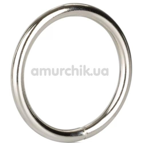 Эрекционное кольцо Silver Ring Large, серебряное