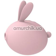 Симулятор орального секса для женщин с вибрацией KissToy Miss КК, розовый - Фото №1