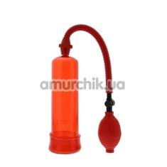 Вакуумная помпа Menz Stuff Penis Enlarger, красная - Фото №1
