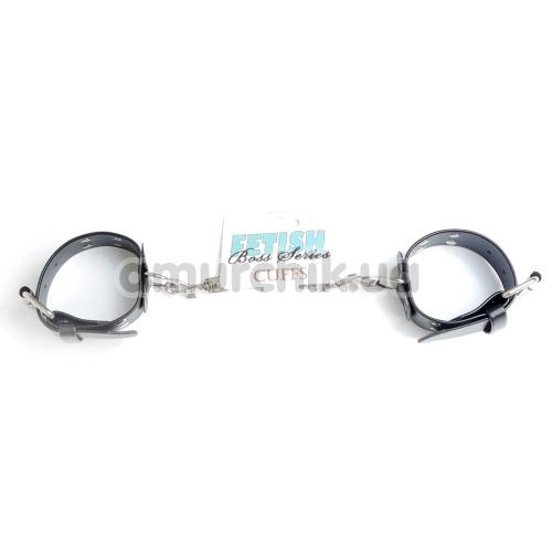 Фиксаторы для рук Fetish Boss Series Cuffs, черные