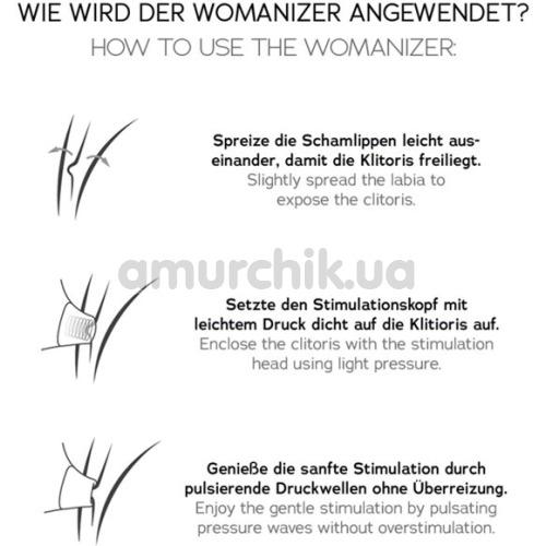 Симулятор орального секса для женщин Womanizer Starlet 2, синий