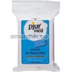 Антибактериальные салфетки Pjur Med Clean Personal Soft Cleaning Fleece, 25 шт - Фото №1