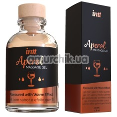 Гель для массажа Intt Massage Gel Aperol - апероль, 30 мл - Фото №1