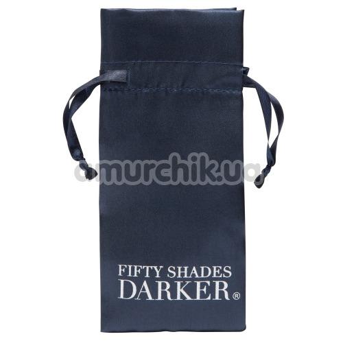 Клиторальный вибратор Fifty Shades Darker Delicious Tingles, серый