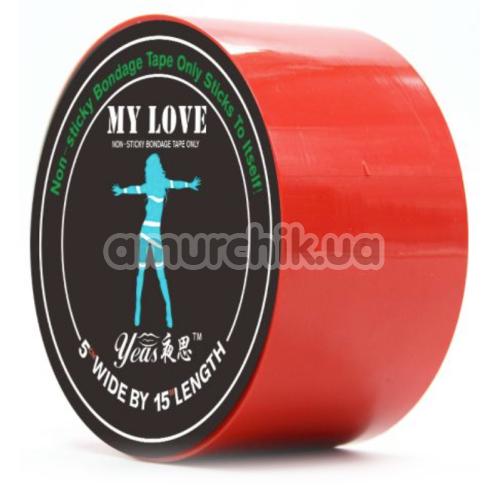 Бондажная лента Loveshop My Love, красная