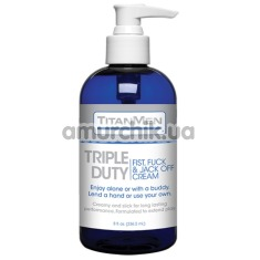Лубрикант для фистинга TitanMen Triple Duty, 236 мл - Фото №1
