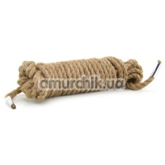 Веревка Jute Bondage Rope - Фото №1