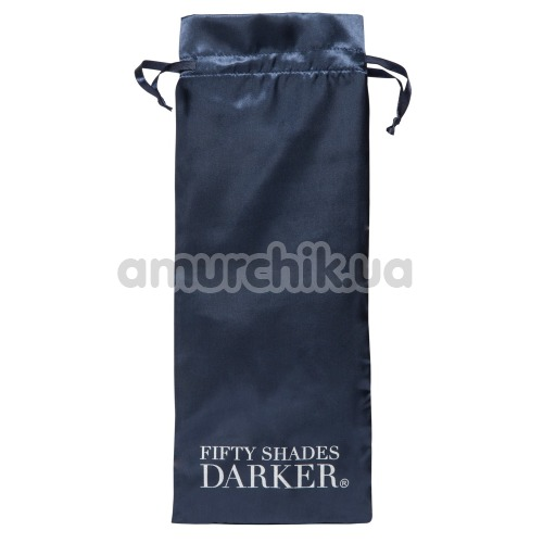 Вибратор Fifty Shades Darker Oh My Rabbit Vibrator, серый