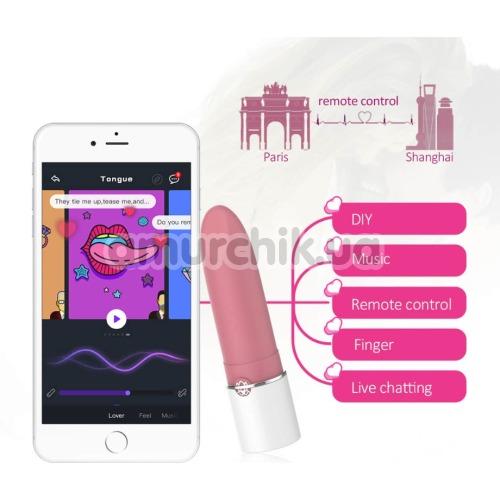 Клиторальный вибратор Magic Motion Magic Lotos, розовый