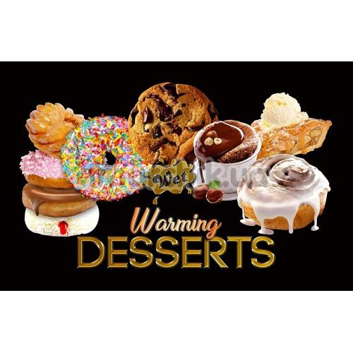 Лубрикант с согревающим эффектом Wet Warming Desserts Fresh Delicious Donuts - пончики, 89 мл