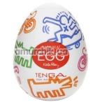 Мастурбатор Tenga Egg Keith Haring Street Стрит - Фото №1