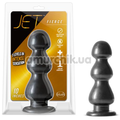 Анальная пробка Jet Fierce, черная