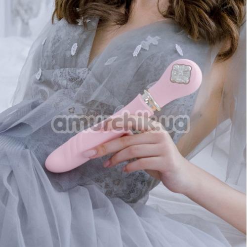 Вибратор с подогревом Zalo Desire Pre-Heating Thruster, розовый
