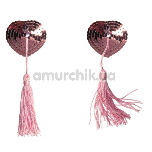 Украшения для сосков Burlesque Gipsy, розовые