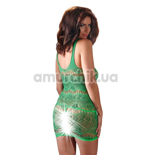 Комплект Mandy Mystery Lingerie Kleid зелёный: платье + трусики-стринги