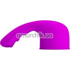 Насадка на универсальный вибромассажер Pretty Love Curitis, фиолетовая - Фото №1