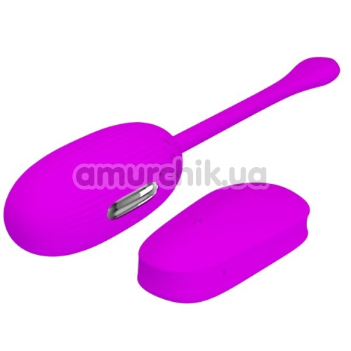Виброяйцо с электростимуляцией Pretty Love Shock Fun, фиолетовое