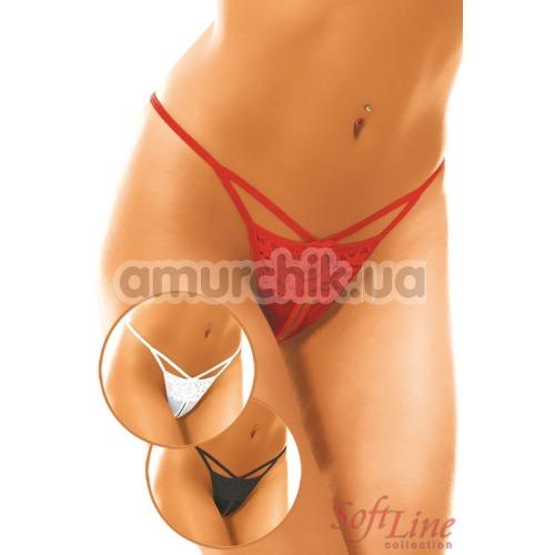 Трусики-стринги женские String красные (модель 2270)