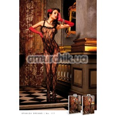 Комбинезон Black Lace Bodystocking (модель B177) - Фото №1
