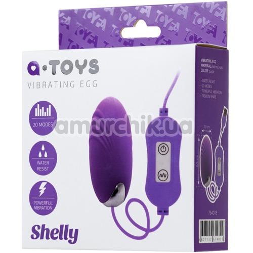 Виброяйцо A-Toys Vibrating Egg Shelly, фиолетовое