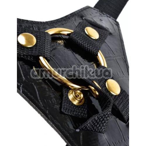 Страпон Fetish Fantasy Gold Designer Strap-On, черный