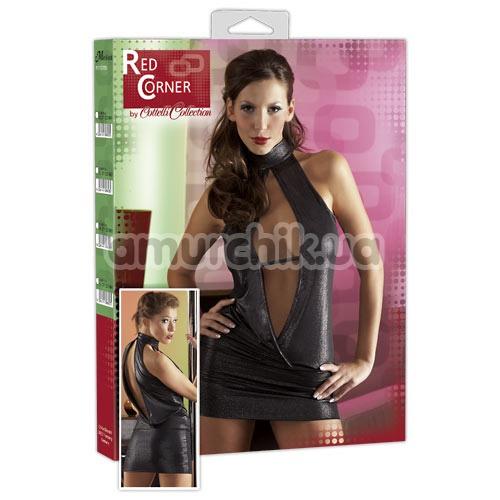 Мини-платье Cottelli Collection Red Corner 2711206, чёрное