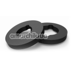 Кольцо для гидропомпы Bathmate X20 Hydromax 5 Cushion Rings, чёрное - Фото №1