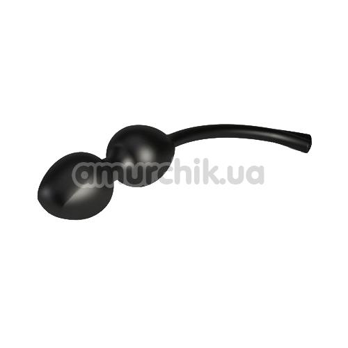 Вагинальные шарики с электростимуляцией Mystim Jane Wonda, черные - Фото №1