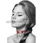 Ошейник Bijoux Pour Toi Heart Lock, красный - Фото №1