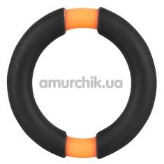 Эрекционное кольцо Rock All Night Penis Ring, оранжевое - Фото №1