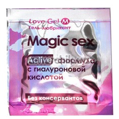 Лубрикант Magic Sex Love Gel, 4 мл - Фото №1