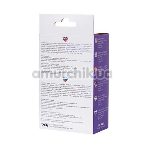 Анальная пробка с вибрацией A-Toys Vibro Anal Plug 761315 L, фиолетовая
