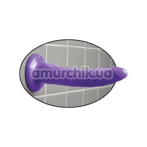 Фаллоимитатор Slim Dillio 7, фиолетовый